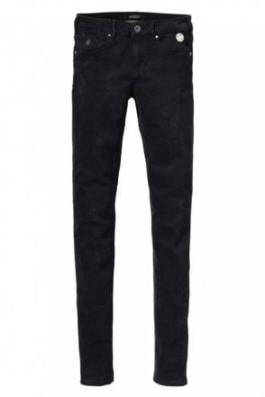 La Parisienne Precious Rock Jean in Black