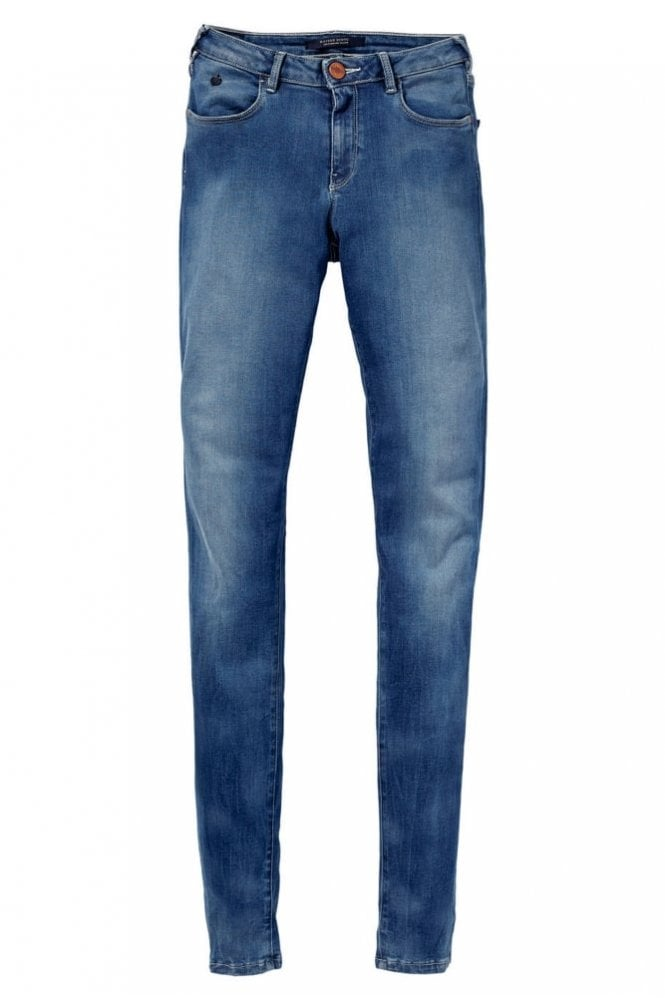Maison Scotch Le Voyage Incredible You Jean in Denim Blue
