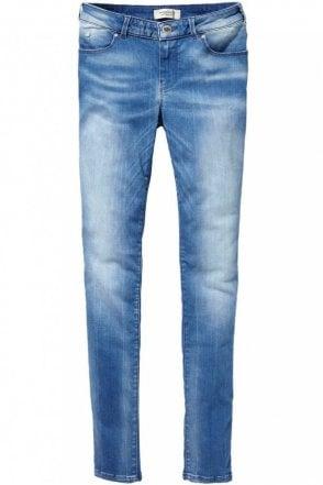 Le Voyage Super Skinny Jean in Sogno Blue