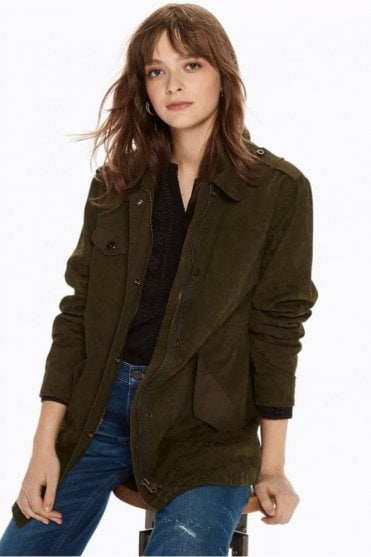 Military Jacket in Military Green