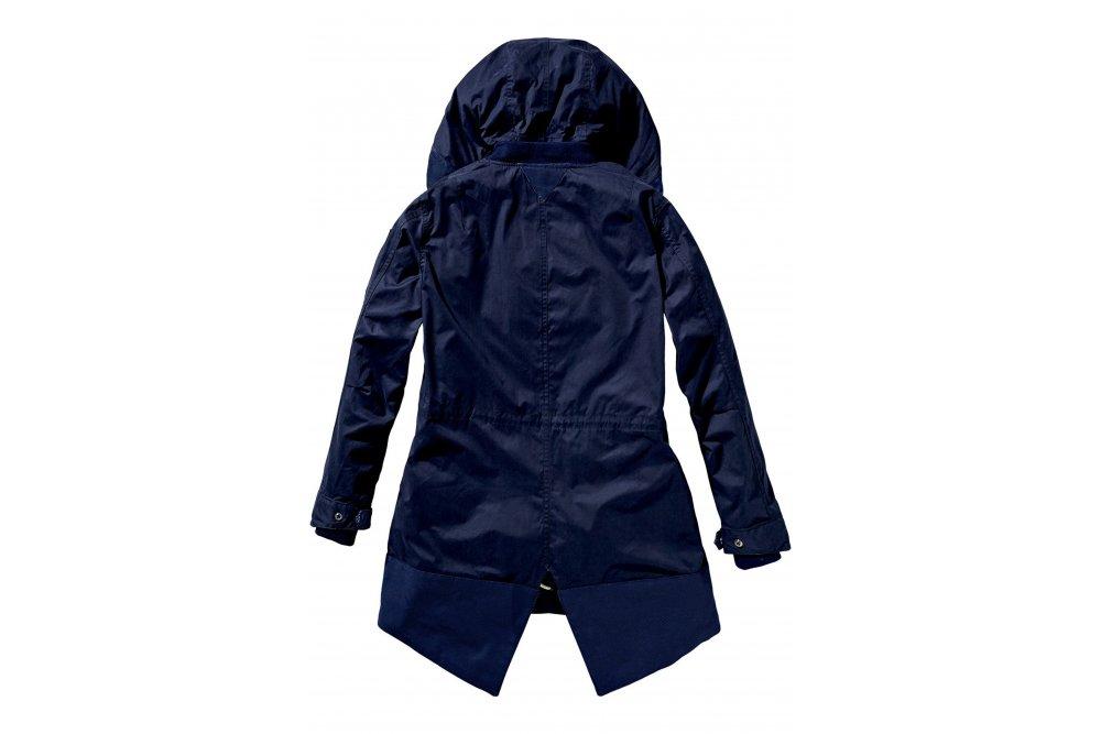 maison scotch parka jacket in navy at sue parkinson. Black Bedroom Furniture Sets. Home Design Ideas