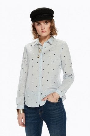 Printed Cotton Shirt in Combo B