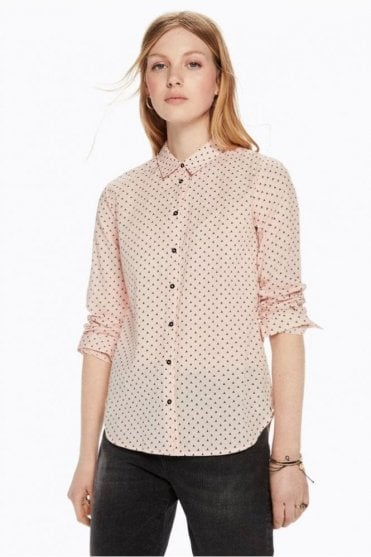 Printed Cotton Shirt in Combo D