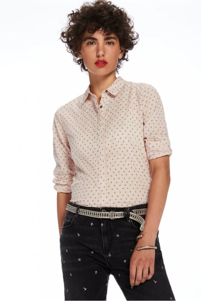 Maison Scotch Printed Cotton Shirt
