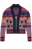 Maison Scotch Short Knitted Cardigan