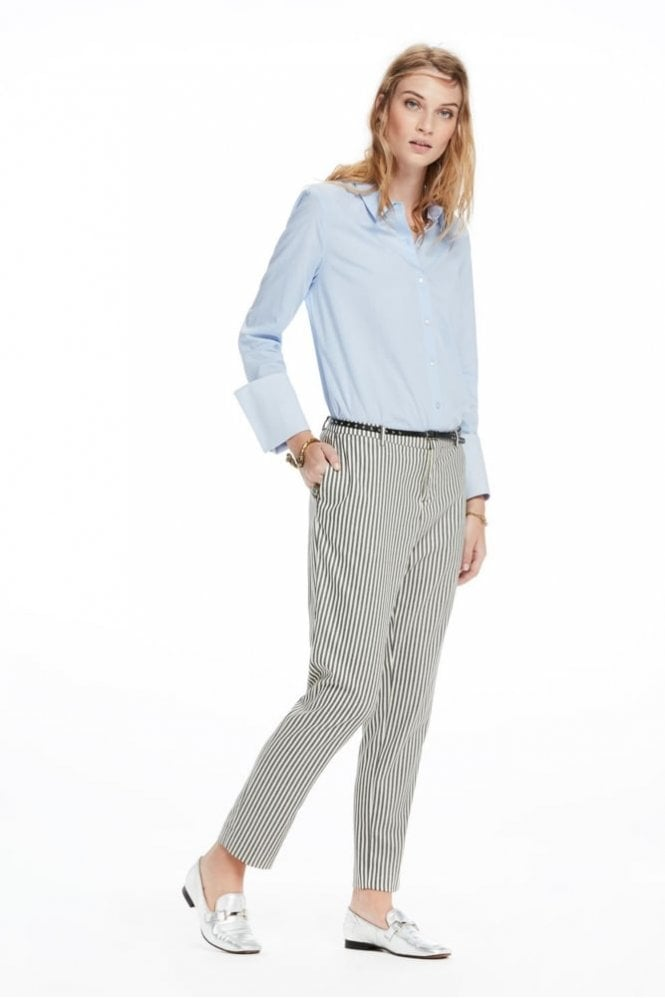 Maison Scotch Striped Tailored Trouser