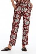 Maison Scotch Tapered Print Pants