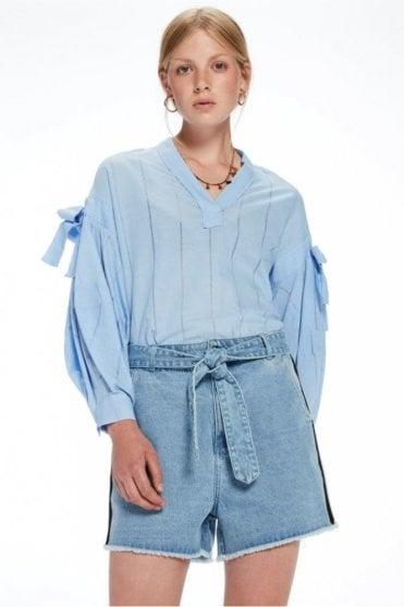 V-neck Cotton top
