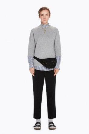 Velvet Side Stripe Trousers