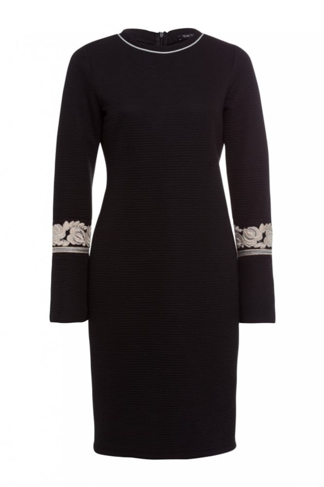 Marc Aurel Dress With Trumpet Sleeves