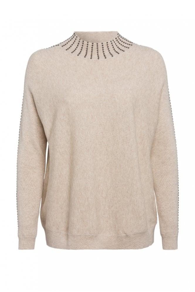 Marc Aurel Embellished Knit