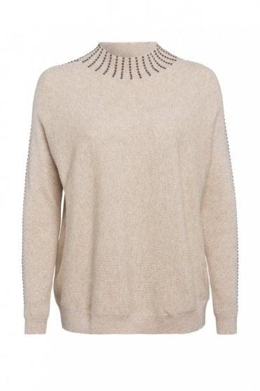 Embellished Knit
