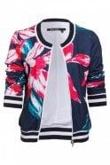 Marc Aurel Floral Bomber Jacket