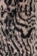 Marc Aurel Light Copper Reversible Animal Print Waistcoat