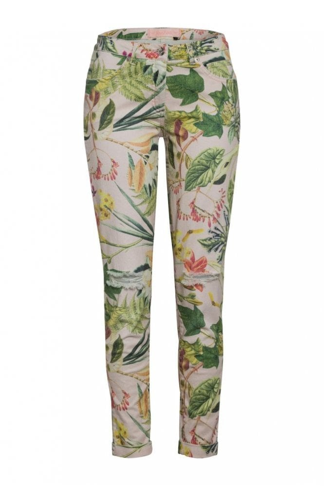 Marc Aurel Print Jean in Light Rose