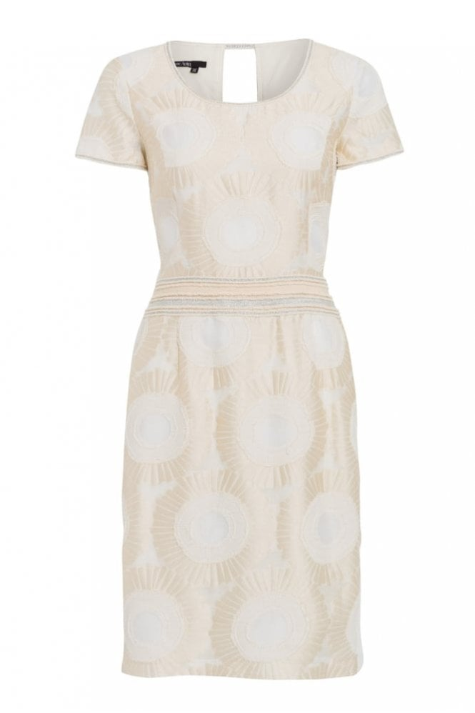 Marc Aurel Printed Dress in Sand