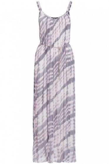 Rosebud Print Chiffon Dress