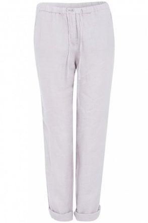Silver Grey Drawstring Trouser