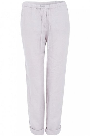 Silver Grey Drawstring Trouser