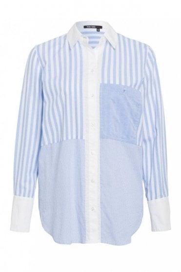 Stripe Shirt in Blue