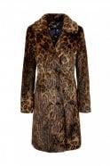 Marc Cain Leopard Coat in Fun Fur