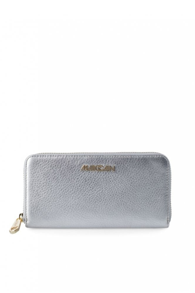 Marc Cain Metallic Effect Purse in Silver