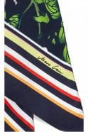 Marc Cain Narrow Silk Scarf in Space Blue