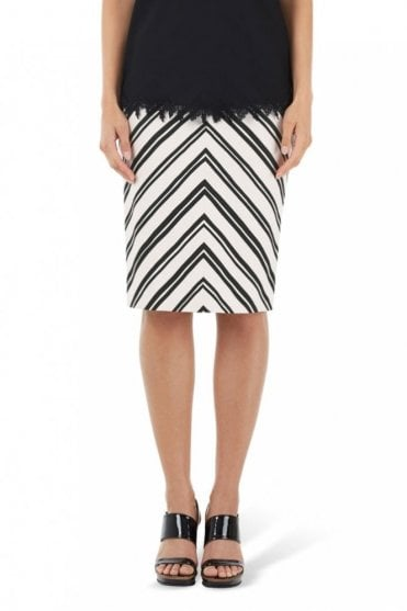 Stretch Skirt in Panna