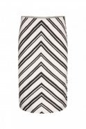Marc Cain Stretch Skirt in Panna
