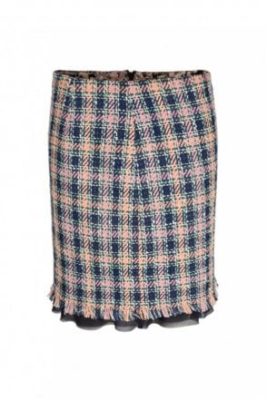 Tweed Skirt in Blossom