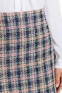 Marc Cain Tweed Skirt in Blossom