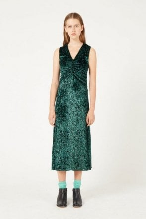 Laurent Dress in Evergreen