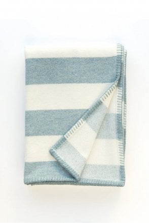 Broadstripe Throw in Topaz