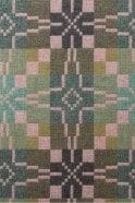 Melin Tregwynt Vintage Star Cushion in Blossom