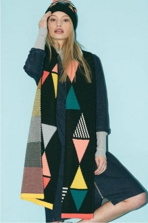 Triangle Scarf in Black