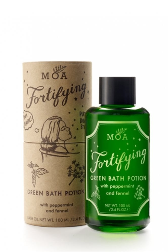 MOA Fortifying Green Bath Potion