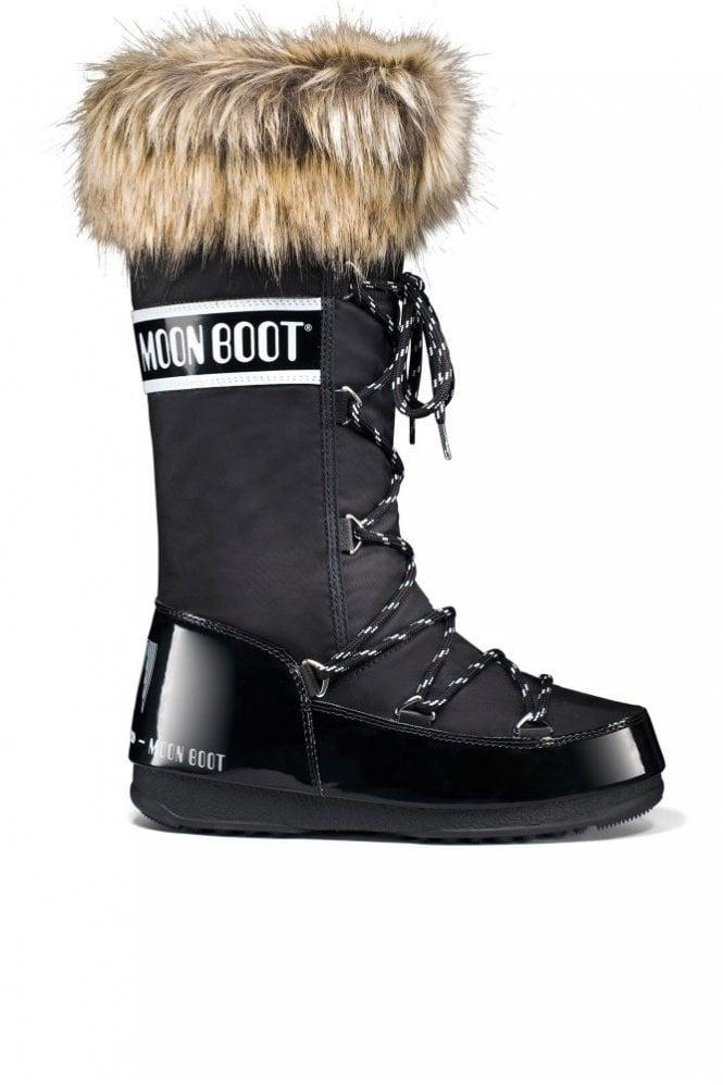Moon Boot We Monaco Winter Boot in Black