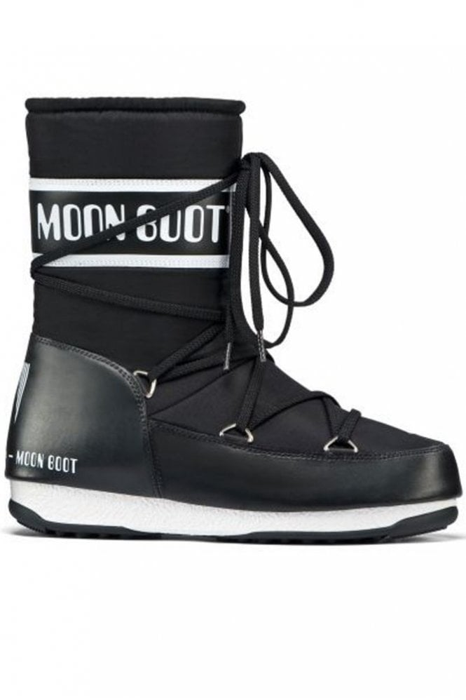 Moon Boot We Sport Mid Winter Boot in Black