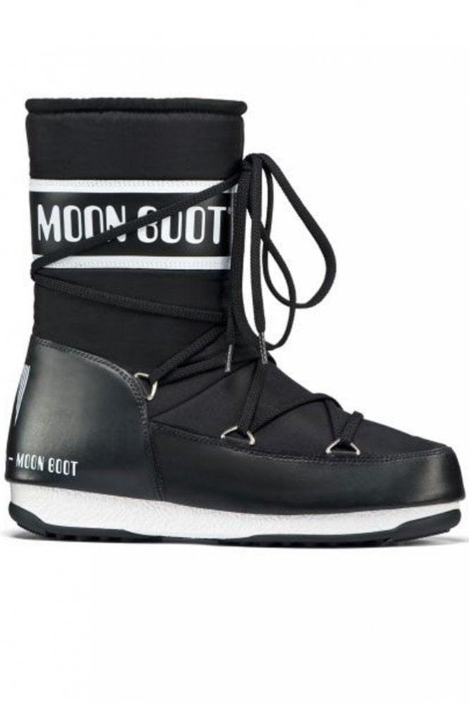 Moon Boot We Sport Mid Winter Boot in Black