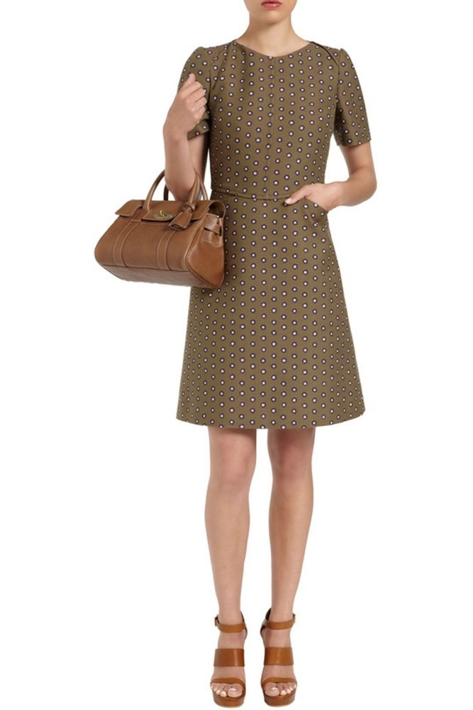 Mulberry small bayswater satchel oak natural leather with for The bayswater