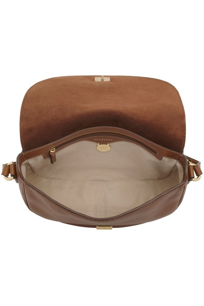 d4eaea8873 ... italy mulberry tessie satchel in oak soft small grain adcc0 41d96