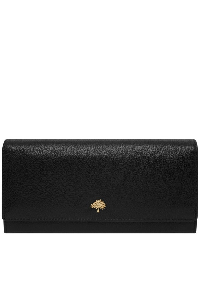 61b14940cf ... low price mulberry tree continental wallet in black glossy goat 3ec58  274e9