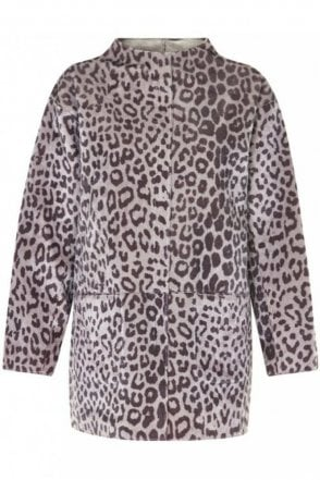 Giho Jacket in Animal Print