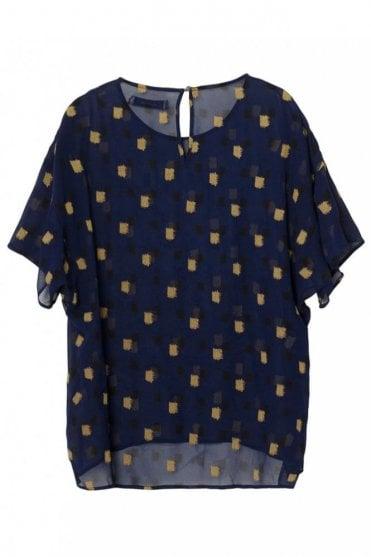 Jamais T-Shirt in Indigo