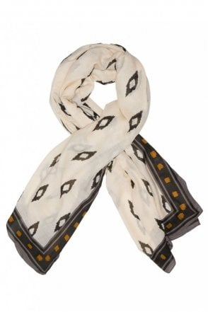Jeanne Scarf in Ivory