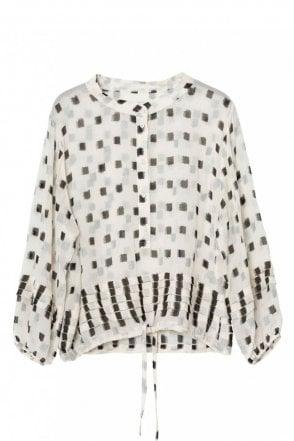 Julie Ivory Chiffon Shirt
