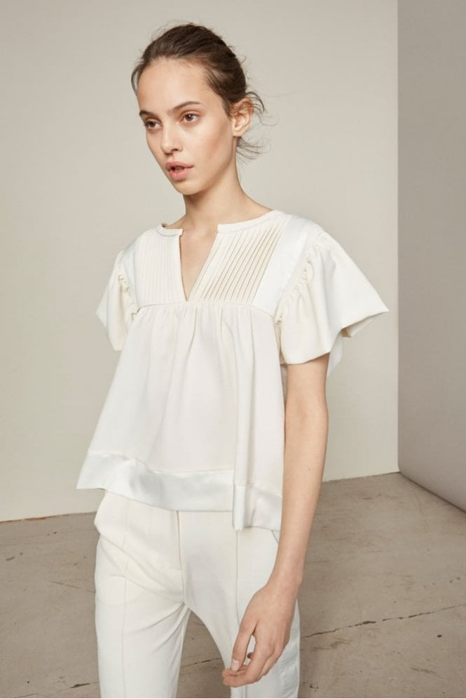 Munthe Labour Blouse in Ivory