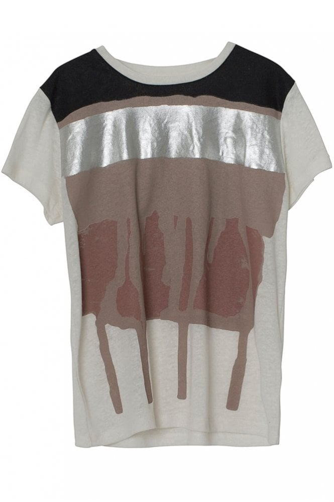 Munthe Leon T-Shirt in Ivory