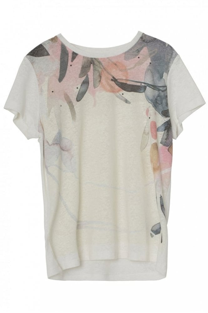 Munthe Lime T-Shirt in Ivory