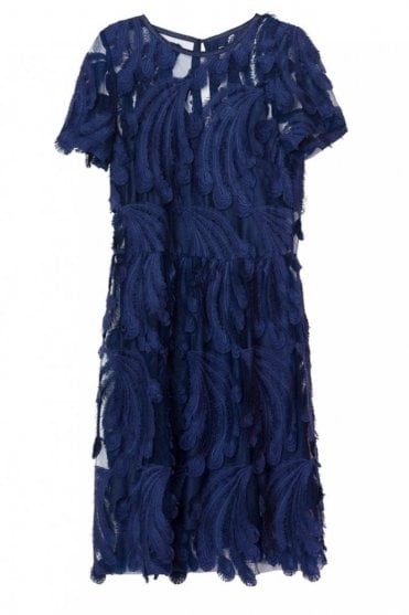 Marlene Dress in Indigo